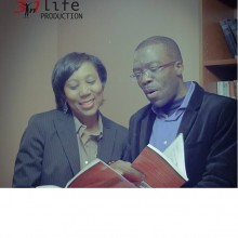 "Andrea Holmes-Thompkins & Azuka reading ""The Power to Excel"" book together"