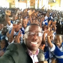 Azuka Speaks to over 2000 Students in Nigeria, West Africa.