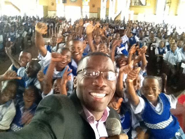 Azuka Speaks to over 2000 Students in Nigeria, West Africa. I was humbled by their desire for success.