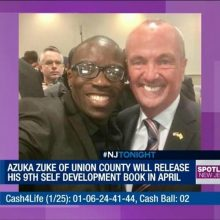 Azuka & Governor Phil Murphy of New Jersey USA. Checkout our selfie smiles. Believe in yourself.