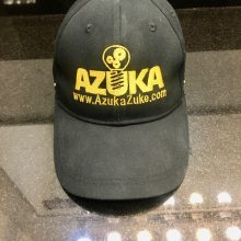 Azuka Brand Hat. Contact azukazuke@gmail.com or Instagram @authorazuka for details. Stay Positive everyone.